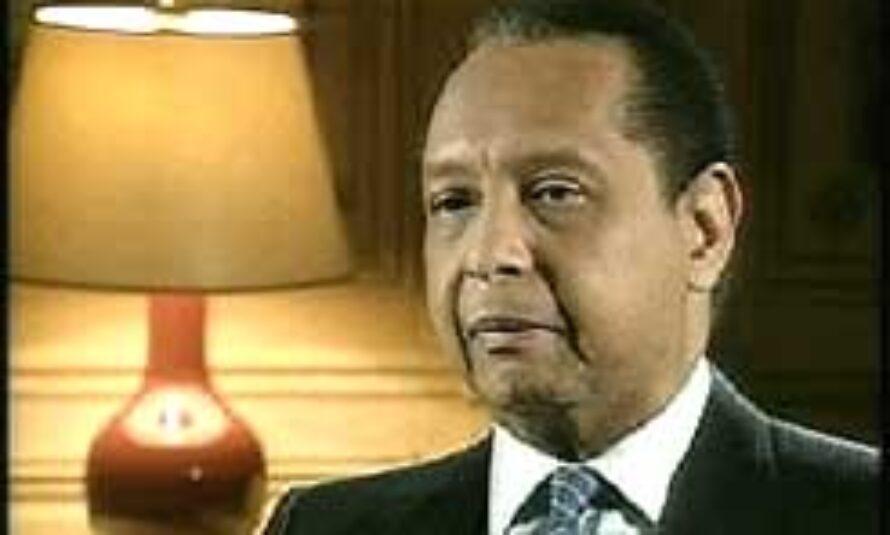 """EXCLUSIF ! – Jean-Claude Duvalier dit """"Baby Doc"""" en Haïti"""