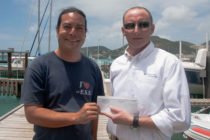 Island Global Yachting shows support for a cleaner lagoon