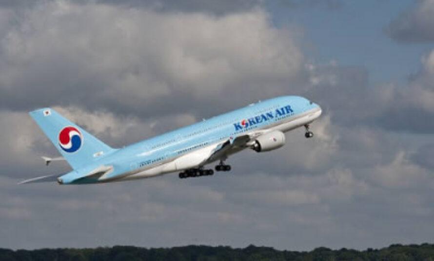 BOURGET : Un A380 d'Air Korean au secours d'Airbus