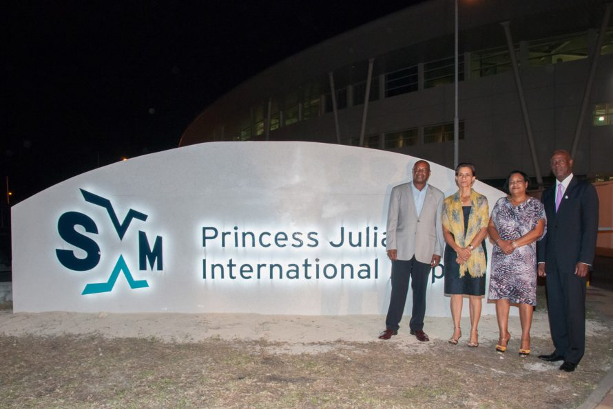 "New SXM brand is ""a symbol of growth and prosperity"" for St. Maarten airport in the 21st century"