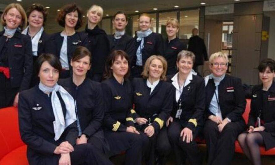 Un équipage exclusivement féminin dans un Airbus A380 pour la Journéee de la Femme