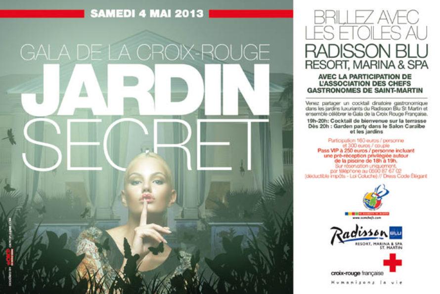 Brillez avec les étoiles au Radisson Blu – GALA DE LA CROIX ROUGE – JARDIN SECRET