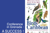 Grenada : Bird conservation-climate change conference a success !