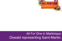 Saint-Martin and Oswald at ALL FOR ONE in Martinique