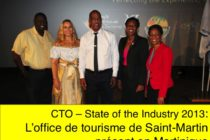 L'Office de Tourisme de St Martin au CTO State of the Industry 2013 en Martinique
