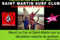 Le Saint Martin Surf Club Vice-Champion de l'EuroSurf 2013