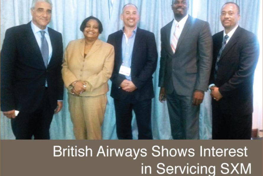 Sint Maarten. Bristh Airways shows interest in servicing SXM