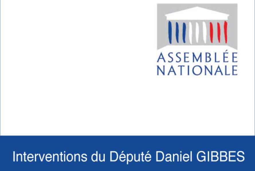 Projet de loi de finance 2016 : l'intervention du député Daniel Gibbs à l'assemblée nationale