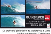 Surf. Les Waterboys & Girls de Saint-Martin sur le North Shore FWI