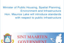 Sint Maarten. Minister Lake to introduce standards for public infrastructure and guarantee work for small contractors