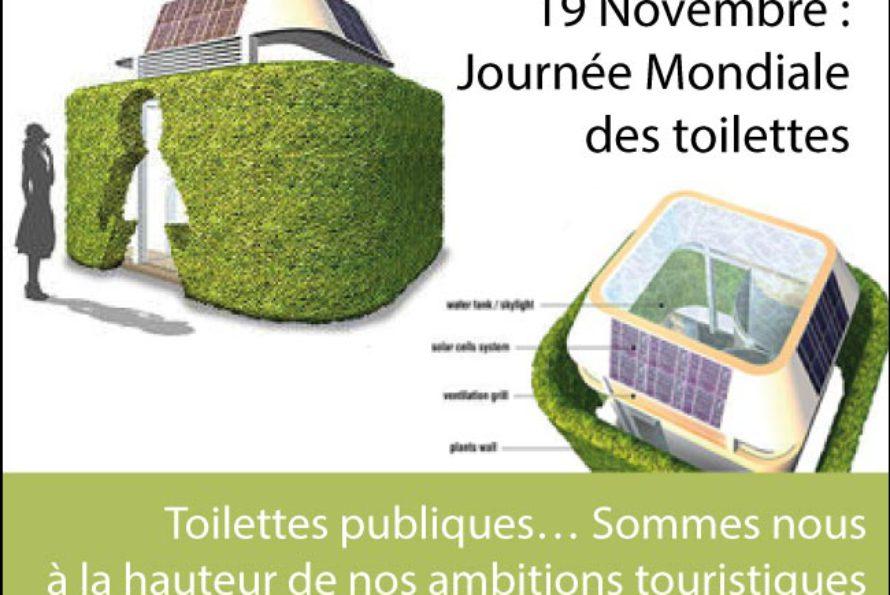 Journée Mondiale des Toilettes. Pas un sujet de m…