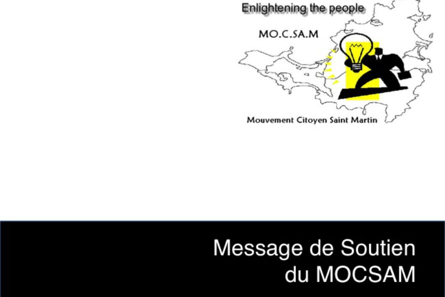 MOCSAM. Messages de condoléances