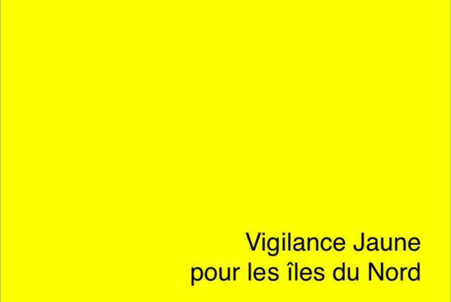 ISAAC a perdu de son organisation : Vigilance Jaune IDN et Orange Guadeloupe et Martinique