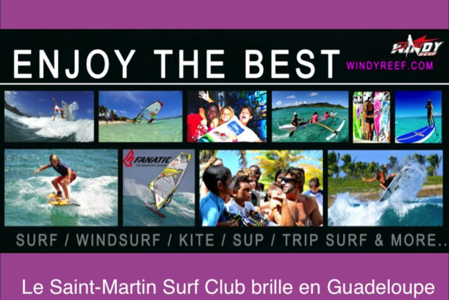 Surf. Competition Surf Espoir / Open en Guadeloupe