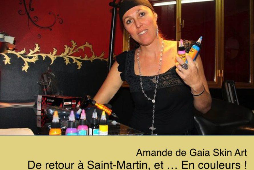 Gaia Skin Art Tattoo. Le tatouage en couleur est sauvé