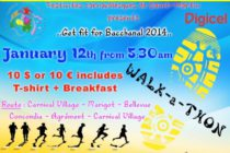 Saint-Martin. Carnaval : Get Fit for Bacchanal 2014