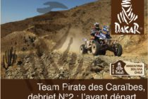Dakar 2014. Le Team Pirate des Caraïbes dans les starting blocks