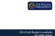 Sint Maarten. Draft 2014 Country Budget Available on Parliament's Website