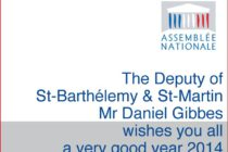 Saint-Martin. Deputy Daniel Gibbs' New Year Message