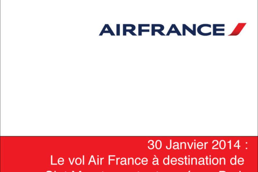 Air France. L'arrivée à Saint Martin est retardée
