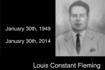 In Memory of Louis Constant Fleming