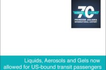 Security. US-bound Transit Passengers Can Now Carry Liquid Aerosols and Gels on Board