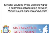 Sint Maarten. Collaboration between Ministries of Education and Justice