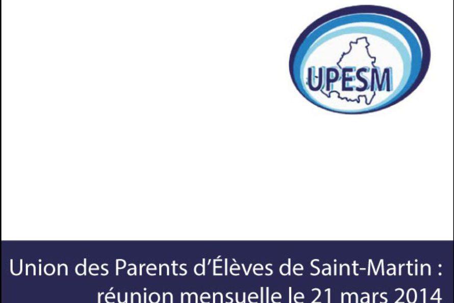 Education. Communiqué de l'Union des Parents d'Elèves de Saint-Martin