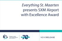 Sint Maarten. Everything St. Maarten presents SXM Airport with Excellence Award