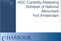 Harbour Group of Companies Currently Assessing Disrepair of National Monument Fort Amsterdam