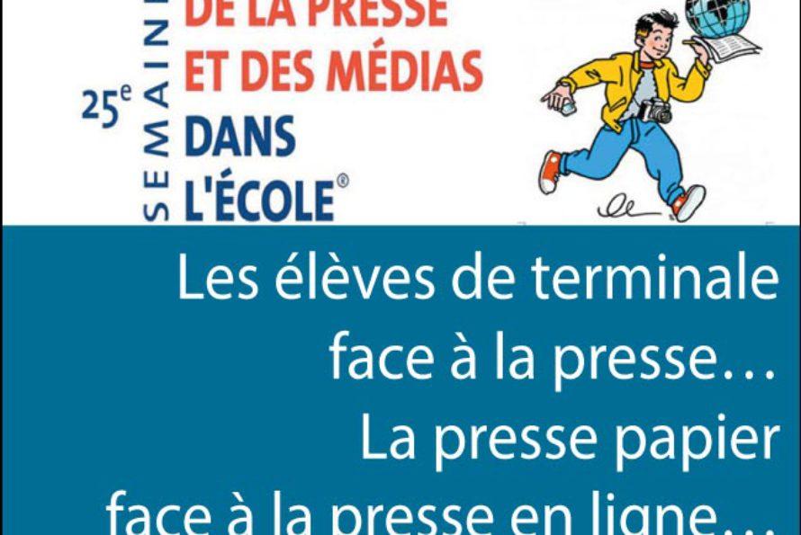 Médias. Semaine de la presse dans les écoles : débat intéressant et croustillant à la CCISM