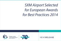 PJIA. SXM Airport Selected for European Awards for Best Practices 2014