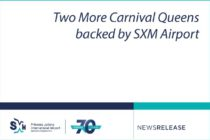Carnival. Two More Carnival Queens backed by SXM Airport