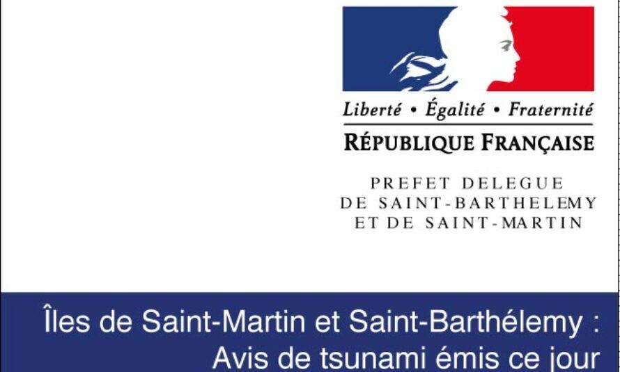 Saint-Martin. Ceci n'est pas un exercice : avis de tsunami
