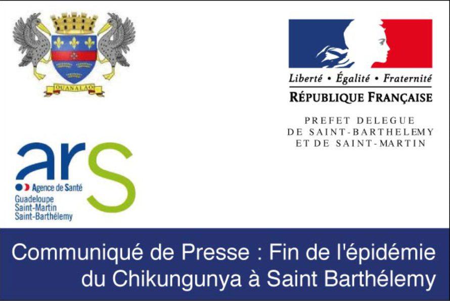 Saint-Barthélemy. Fin de l'épidémie du Chikungunya