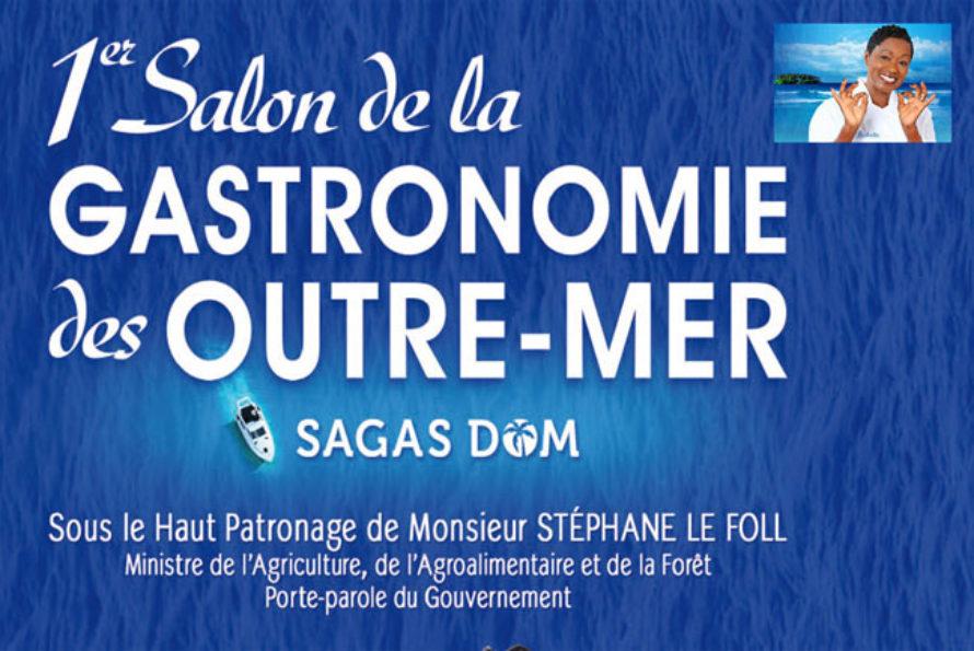 Babette de Rozière : 1er Salon de la Gastronomie des Outre-mer à Paris