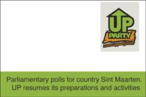 Sint Maarten. UP board announces resumption of preparations for August 29 Poll