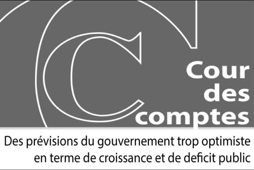 Déficit public français… la Cour des Comptes a des doutes quant au programme de stabilité