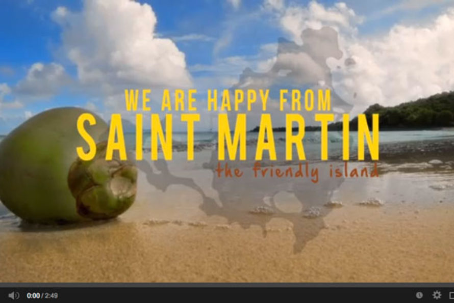 Happy from Saint-Martin, the Friendly Island!