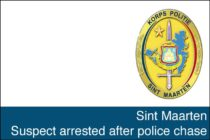 Sint Maarten. Suspect arrested after police chase