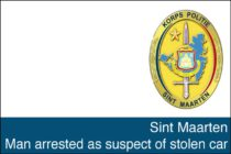 Sint Maarten. Man arrested as suspect of stolen car