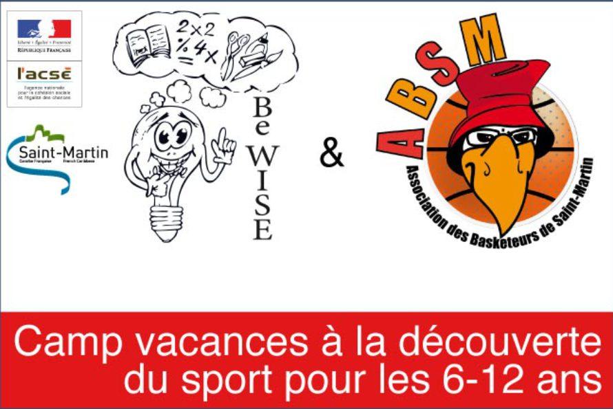 Saint-Martin. Camp vacances à la découverte du sport pour les enfants de 6 à 12 ans