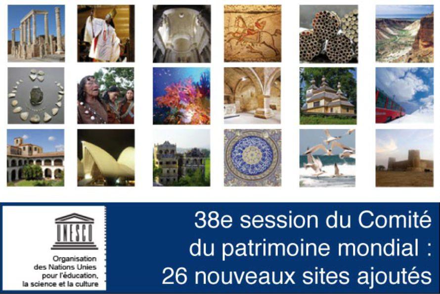 UNESCO. 26 nouveaux sites ajoutés à la Liste du patrimoine mondial lors de la session de Doha