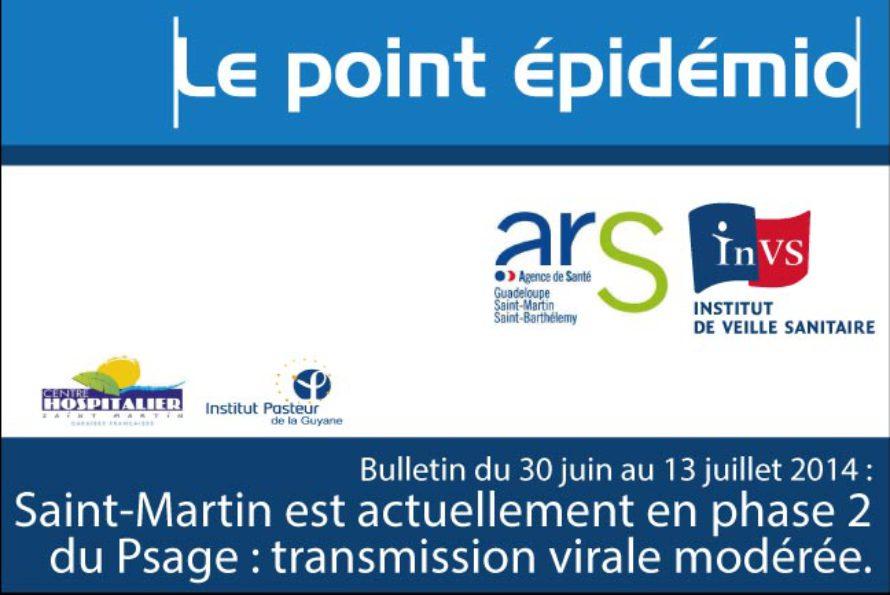 Santé. Chikungunya dans les Antilles-Guyane : bulletin du 30 juin au 13 juillet 2014