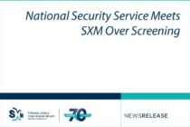 Sint Maarten. National Security Service Meets SXM Over Screening