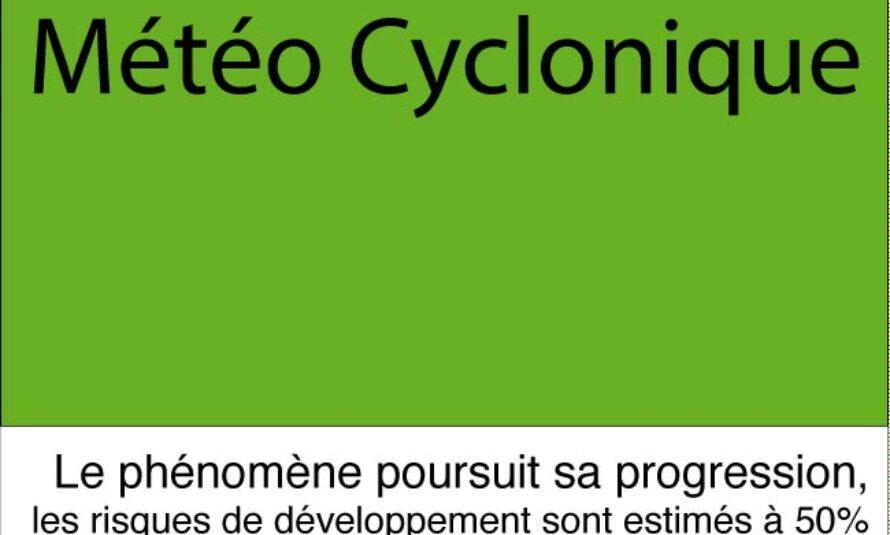 Météo Cyclonique. Le système sous surveillance poursuit sont développement et sa progression vers les Antilles