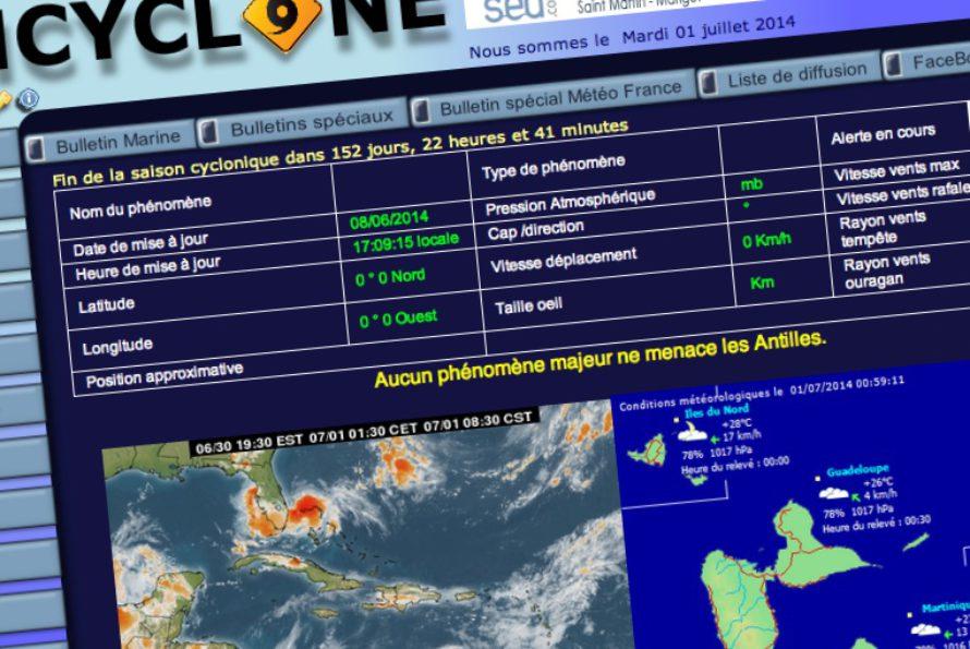 SXMCYCLONE : vigilance ORANGE pour la  Martinique