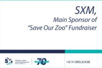 "Sint Maarten. SXM, Main Sponsor of ""Save Our Zoo"" Fundraiser"