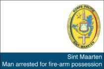 Sint Maarten – Man arrested for fire-arm possession