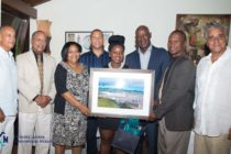 SXM Airport Bids Clarence Derby Farewell